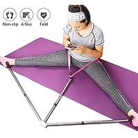 Fullyy - Estirador de piernas para Entrenamiento de Estiramiento de piernas, Resistente y portátil, 3 Bar, flexibilidad, Estiramiento de máquina, Artes Marciales, Estiramiento de Yoga, Gimnasio