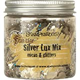 Stampendous Lux Mica and Glitter Mix, Silver