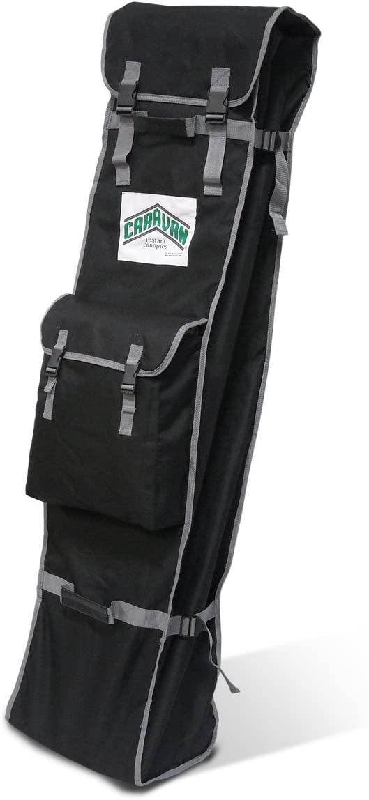 Caravan Canopy 10 X 15-Feet Commercial Roller Bag - Black