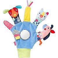 Fehn 055429 Färg vänner fingerdocka handske för höger hand för spädbarn och småbarn från 0 månader storlek 26 cm