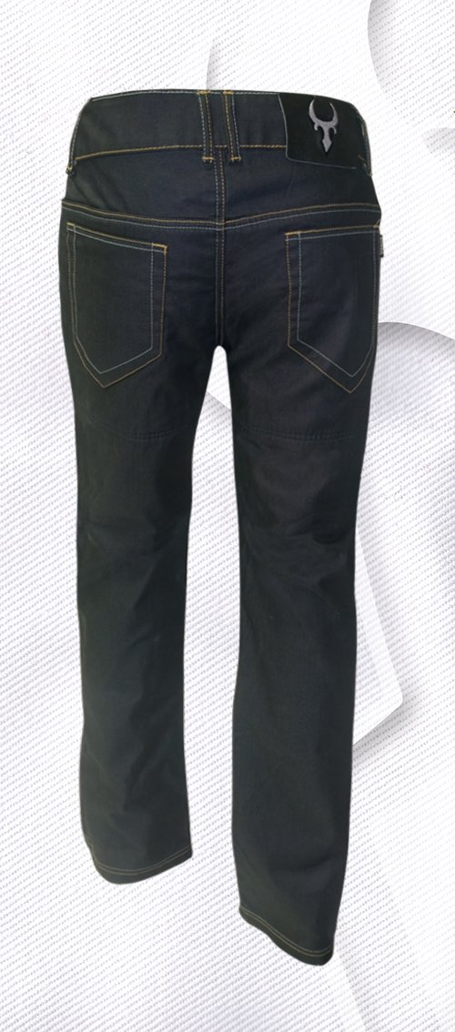 Bull-it SR4 Slate Covec Mens Reinforced Jeans Black, 34L x 42W 1.02E+11