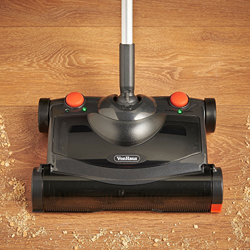 Vonhaus Electric Hard Floor Sweeper Cordless Wireless