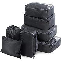 Wanderlite Packing Cube Set - 7 Pcs/8 Pcs Travel Luggage Packing Organizer Bag Set