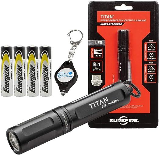 Amazon.com: SureFire Titan-A - Llavero de 125 lúmenes, LED ...