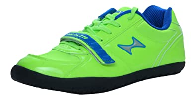0138834756094 HEALTH Throwing/Turning Green Track & Field Shoes 6677