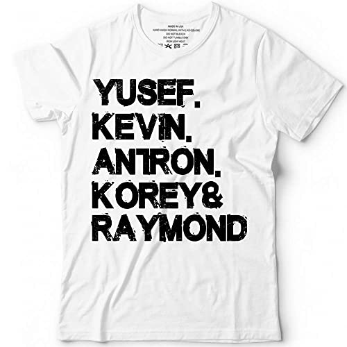 39cd2680b6e7 Amazon.com: Yusef Kevin Antron Korey Raymond Name Boys Customized Handmade T -Shirt Hoodie/Long Sleeve/Tank Top/Sweatshirt: Handmade