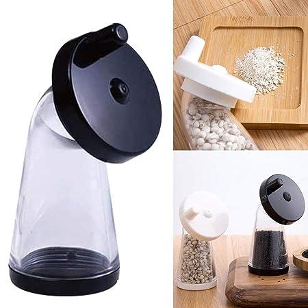 Molinillo de semillas de sésamo, molinillo manual ajustable, botella para moler especias, para moler sésamo o pellets pequeños Tamaño libre Random ...