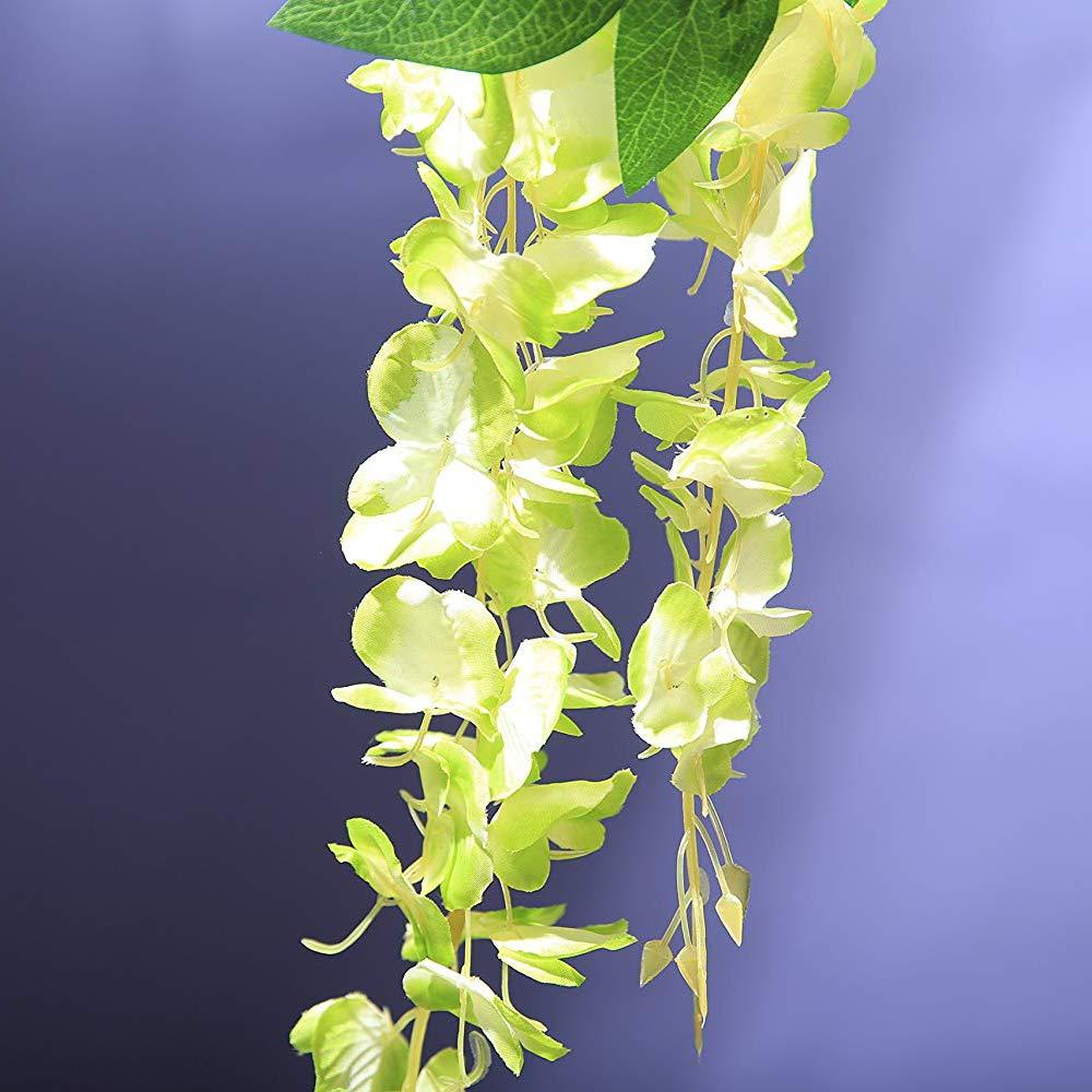 f/ête Maison Jardin Veryhome Lot de 12 Fleurs artificielles en Soie pour d/écoration de Mariage