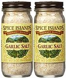 Spice Island Garlic Salt, 3 oz, 2 pk