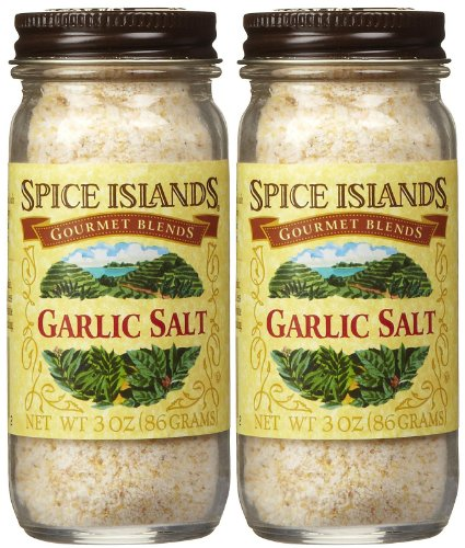 Spice Island Garlic Salt, 3 oz, 2 pk by Spice Island