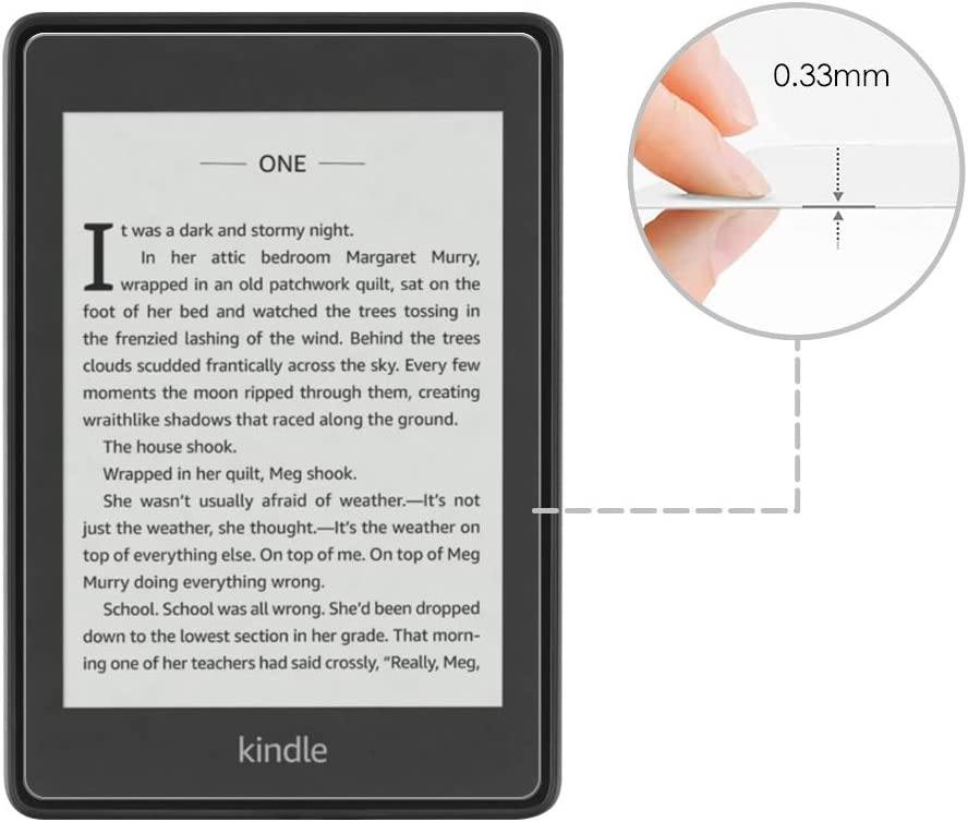 High Definition Bubble Free Frosted Screen Protector for All-New Kindle Paperwhite 2018 10th Generation Aolander Kindle Paperwhite Matte Screen Protector,