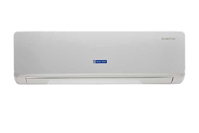 blue star 1 ton 3 star inverter split ac copper bi 3cnhw12nafu