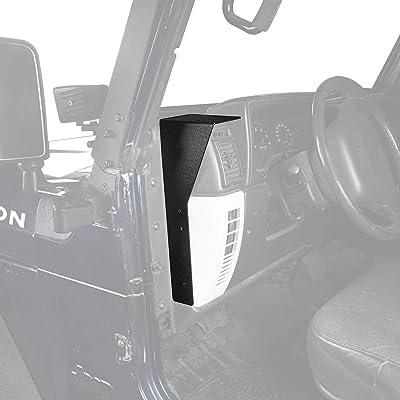 u-Box CB Radio Dash Mounting Bracket for 1997-2006 Jeep Wrangler TJ: Automotive