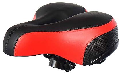 Amazon.com: TB más grueso suave sillín de bicicleta de ...
