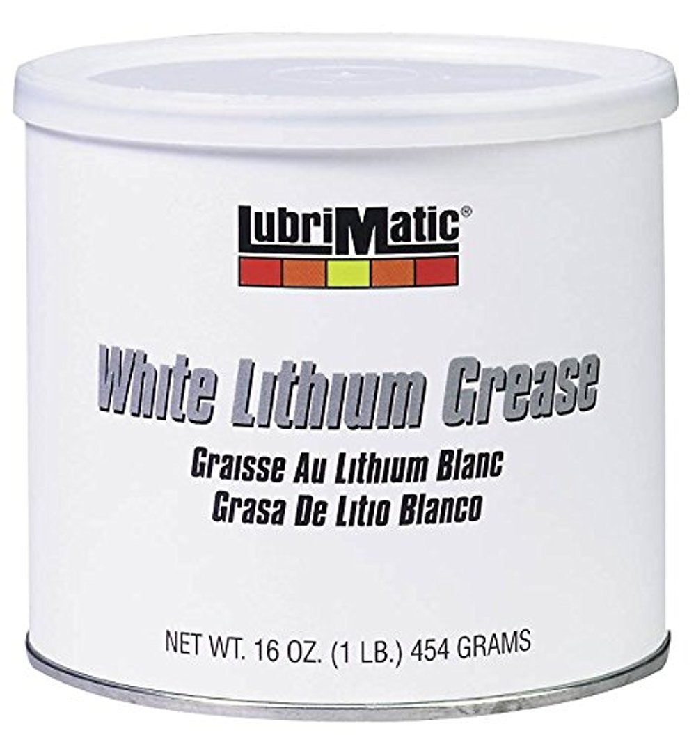 Plews-Edelmann 11350 Lubrimatic Lithium Grease, 16 oz Can, White,Pack of 1 Plews Inc