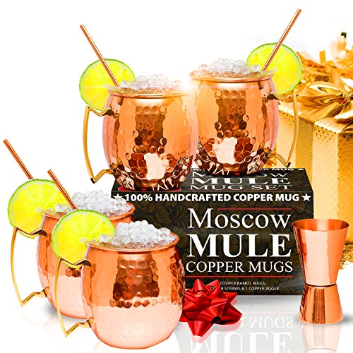 Moscow Mule Copper Mugs HANDCRAFTED product image