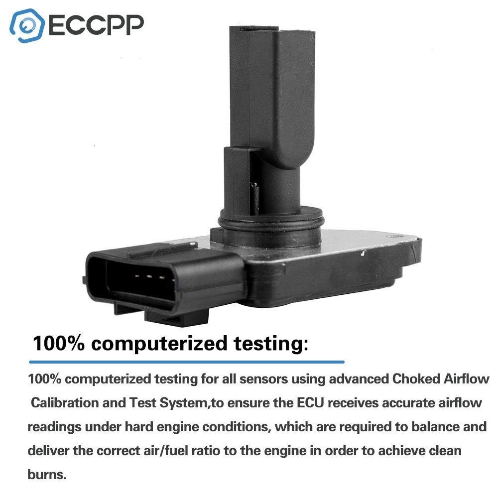 Amazon com: ECCPP Mass Air Flow Sensor Meter Hot Wire Sensor