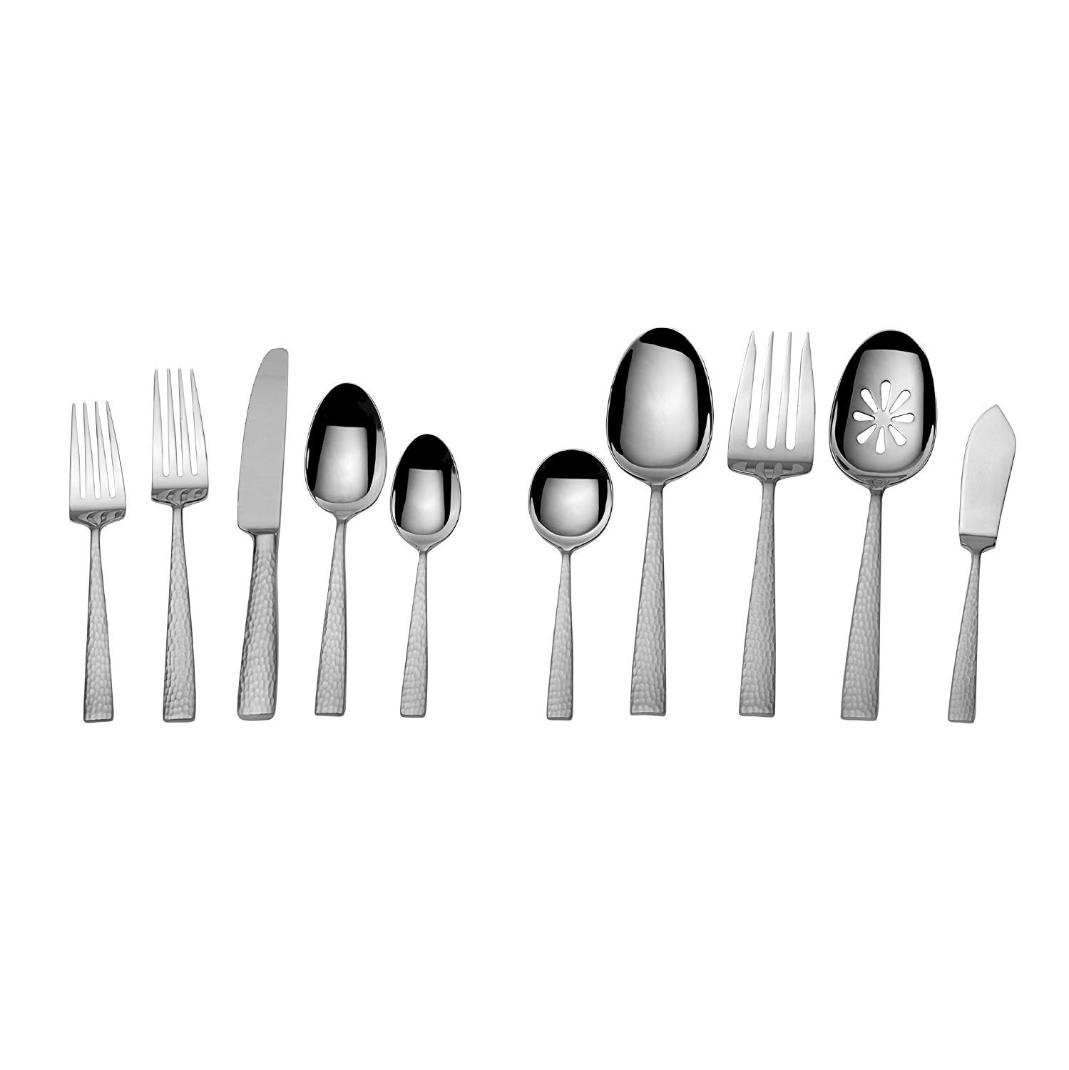 Mikasa Flatware Set 65Pc Oliver 18//10 Stainless Steel Service for 12