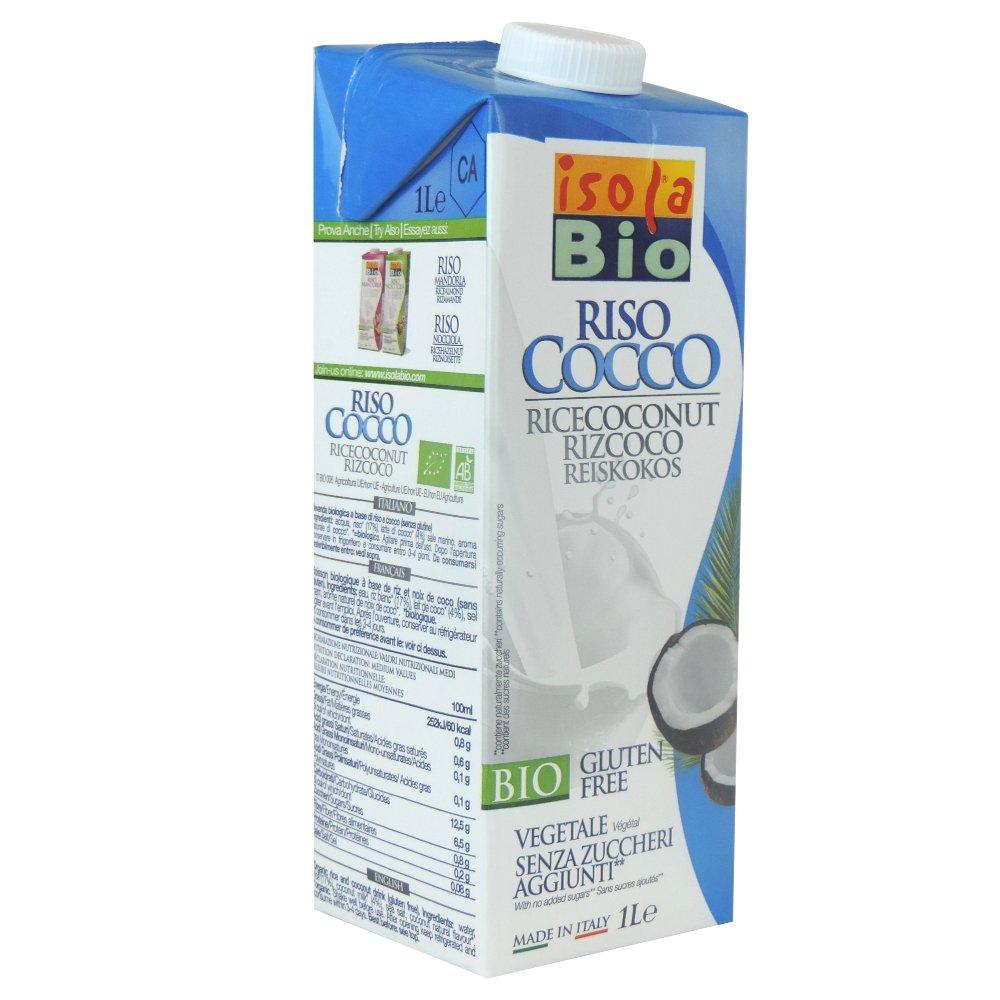 Isola Bio - Riso Cocco Drink - 1L (Case of 6) IsolaBio
