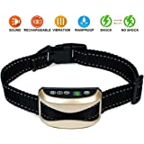 Yappy Dog Bark Collar [New Version] Humanely Stops Barking with Sound and Vibration. NO SHOCK, Harmless and Humane. Small Dog Bark Collar, Medium Dog Bark Collar