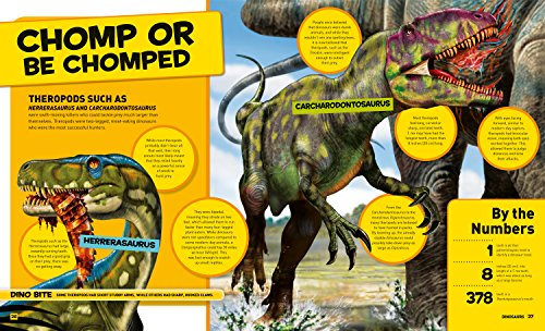 National Geographic Kids Everything Dinosaurs: Chomp on Tons of Earthshaking Facts and Fun by imusti (Image #3)