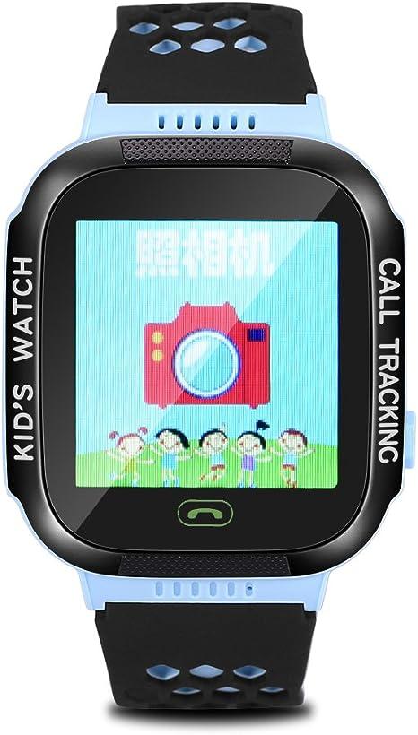 Amazon.com: Fosa Smart Watch Wristband Niños SOS linterna de ...