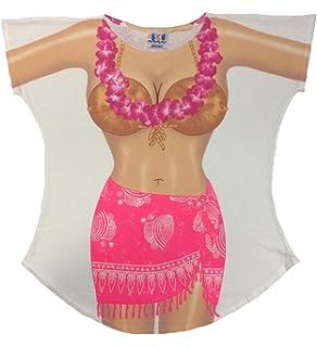 01555adafe L.A. Imprints Sarong Bikini Body Cover-Up T-Shirt #16 Regular Size ...