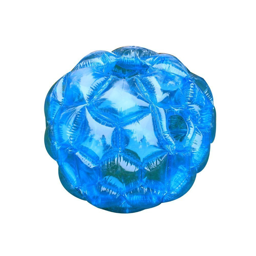 TTOTT Durable PVC 23.6'' Diam, 0.02'' Thickness Inflatable Body Bubble Ball Sumo Bumper Ball for Two or More People Outdoor Sport & Games- BLUE