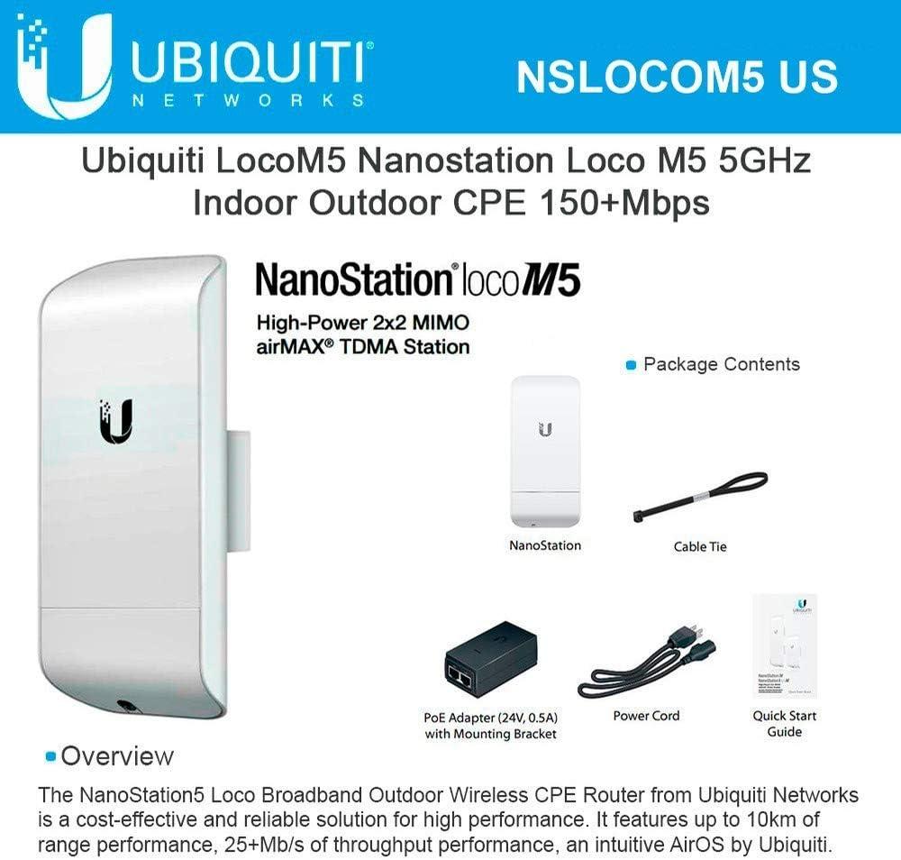 Ubiquiti Nanostation M5 NSM5 used working