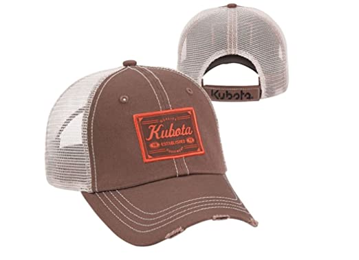 Kubota Chino Mesh Back Cap at Amazon Men s Clothing store  78e7fb8b43e
