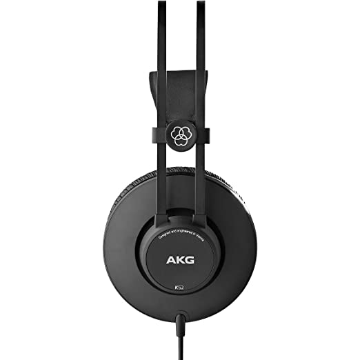 AKG K52 Circumaural Diadema Negro - Auriculares (Circumaural ...
