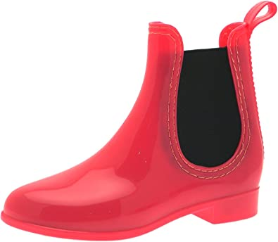 Ladies Leopard Print Spot On Flat Sole Ankle Dealer Wellies Wellington Boots