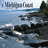 Michigan Coast 2018 12 x 12 Inch Monthly Square Wall Calendar, USA United States of America Midwest State Nature (Multilingual Edition)