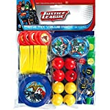 Amscan Adventure Filled Justice League Birthday Party Mega Mix Favor Set (48 Piece), 11 1/2