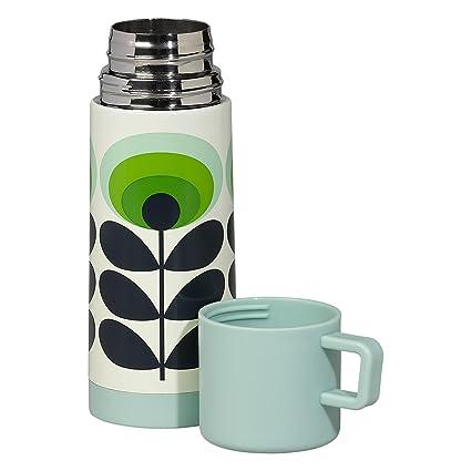 Amazon.com: Orla Kiely Thermos Coffee Travel Mug, Green Flower Print ...