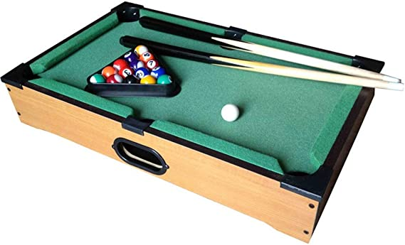 YuYzHanG Mini Mesa De Billar Escritorio Escritorio Juguetes Miniatura Mesa De Billar Juego De Mesa De Billar Mini Piscina Adulto del Niño Table Top Pool Game (Color, Size : 25x35x7cm): Amazon.es: Hogar