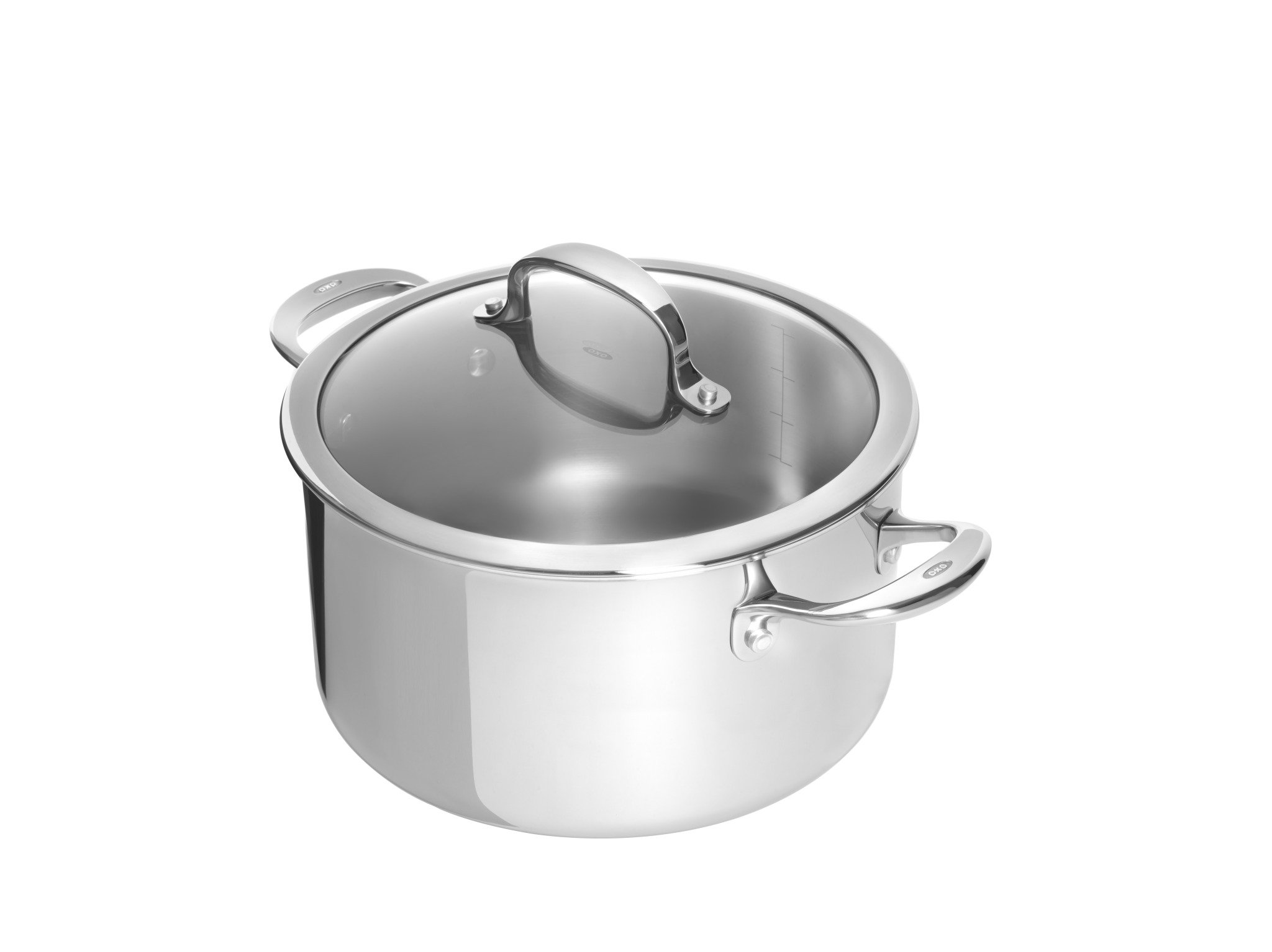 OXO Good Grips Tri-Ply Stainless Steel Pro 8QT Covered Stockpot