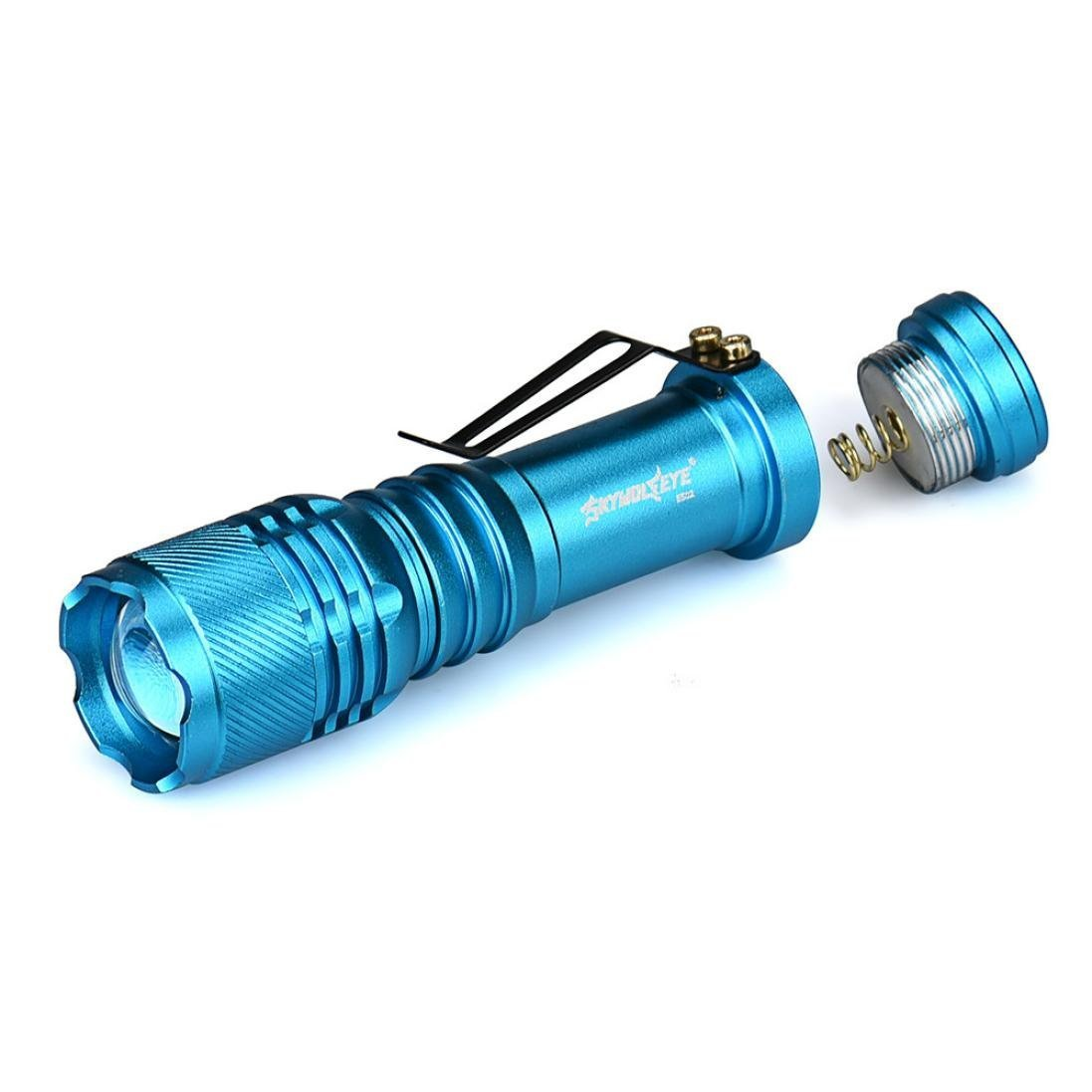 Tonsee 6000LM CREE Q5 AA/14500 3 Modes ZOOMABLE LED Flashlight Torch Super Bright Tonsee-4564564
