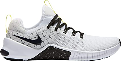 size 40 ce89f 6ff76 Nike Men s Metcon X Free Training Shoes (White Black, ...
