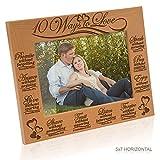 Kate Posh - 10 Ways to Love Bible Verses - Promise, Answer, Give, Share, Trust, Listen, Forgive, Speak, Pray & Enjoy - Picture Frame (5x7 Horizontal)
