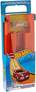 Hot Wheels Track Builder Straight Track with Car