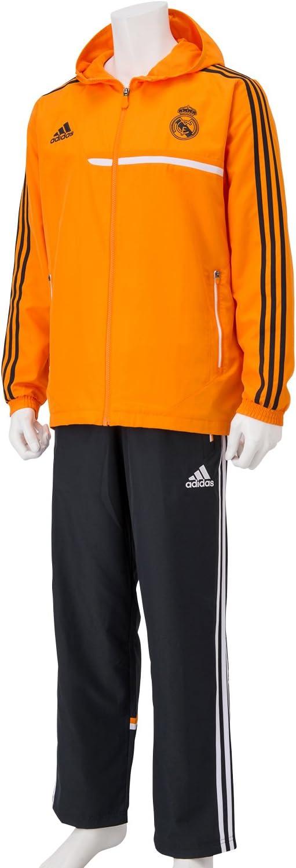 adidas Chándal Real Madrid Presentación -Naranja- 2013-14: Amazon ...