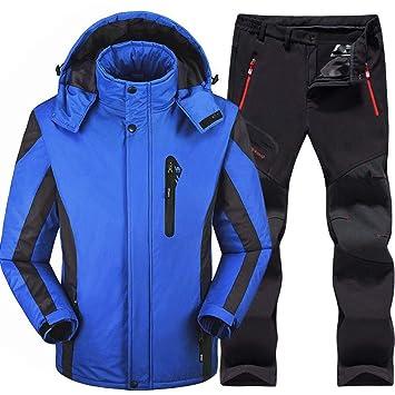 Ski Suit Traje de Esquí Hombres Conjuntos de Esquí y ...