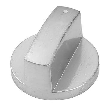 uxcell Metal Cocina Cocina Horno Control Giratorio Interruptor de Estufa de gas gama pomos plata tono: Amazon.es: Coche y moto