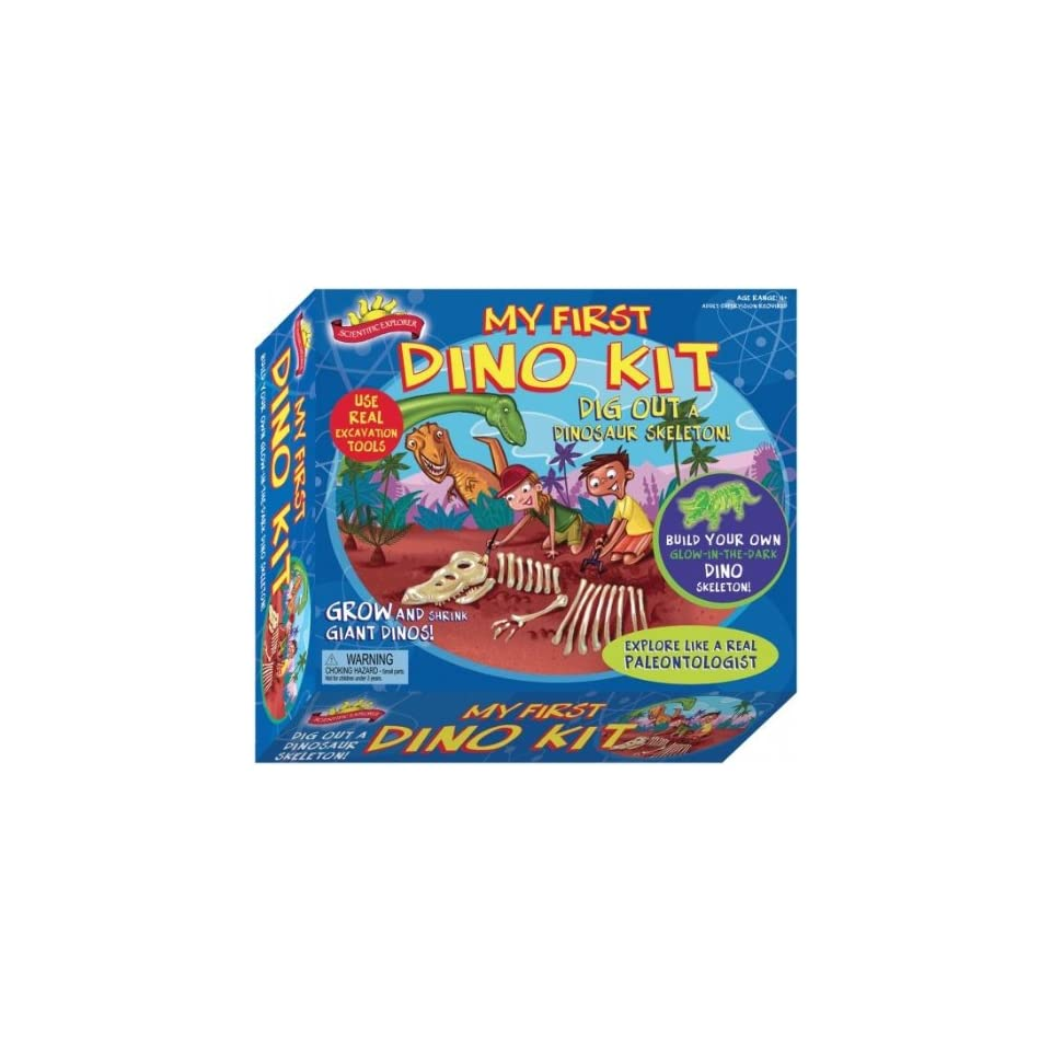 Elmers A227 Scientific Explorers My First Dino Kit