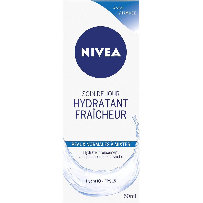 Nivea Soin de jour Hydratant Fraicheur Peaux Normales à Mixtes 50 ml 807321
