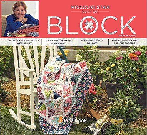 Quilting Idea Book Block Late Summer 2015 Vol 2 Issue 4