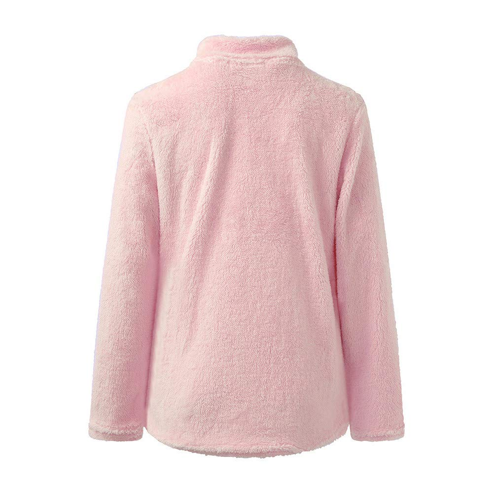 Clearance!Youngh New Womens Sweatshirt Zipper Solid Loose Long Sleeve Warm Fleece Casual Blouse Pullover Tops: Amazon.com: Grocery & Gourmet Food