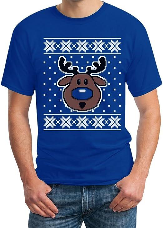 Pull Renne T-Shirt Femme Noël Noël Haut Drôle Cadeau Anniversaire Cadeau