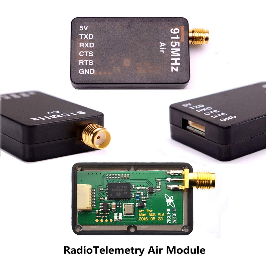 Readytosky 3DR Radio Telemetry Kit 915Mhz 100mW Air + Ground Module Open  Source for Standard Version APM2 6 APM2 8 pixhawk 2 4 6 2 4 8 Flight